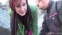 Brit milf spunked in mouth after doggystyled
