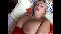 Beautiful big tits old spunker imagines you fuc...