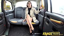 Fake Taxi Lady tries deepthroating big cock with taxi legend thumbnail