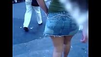 piernas en minifalda guatemala video