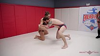 Elite wrestlers Cheyenne Jewel and Sebastian Keys in a back and forth battle to the end - 9Club.Top