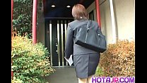 Free download video bokep Yukino in uniform gives blowjob to mailman and gets cum on mouth
