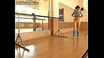 Sexy teen ballerina in action! The incredible flexibility of a young ballerina will blow your cock! thumbnail