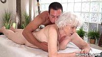 Old mom Norma enjoys sex after massage [마사지 massage]