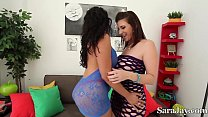 Big Booty Babes Sara Jay & Raquel! Thumbnail