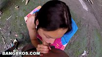 12618 BANGBROS - MILF Aletta Ocean Anal Fucked In Cave, Gets Interrupted preview