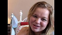 Lona is lovely blonde BBW with nice big tits who loves a hot fucking
