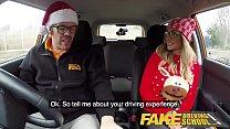 Fake Driving School Randy instructor fucks Kiwi MILF hard on driving lesson