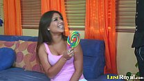 Gorgeous Jynx Maze sucking two different lollipops preview image