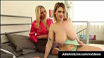 Incredibly Gorgeous Milf Julia Ann In JOI With Siri PornStar Image