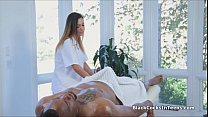 Hot Video Blogspot | Latina masseuse rides big black cock thumbnail