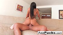 Asa Akira gets a solid and hard fuck Thumbnail