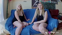 Chubby Blonde Marta Finally Convinces Her Cousi