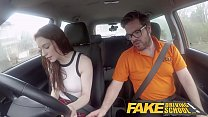 Fake Driving School USA babe Anna De Ville gets...
