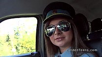 Teen police woman sucking dick in car pornhub video