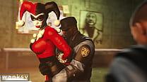 Harley Quinn gang bang image