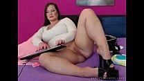 Chubby brunette teasing on webcam tumblr xxx video