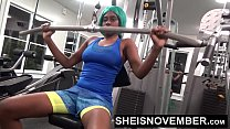 15237 Young Working Out In Public Gym Face Fucked By Stranger & Hardcore Sex preview