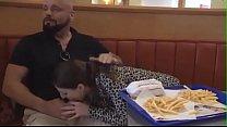 Fucking a hot Swedish slut at Burger King pornhub video