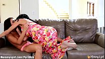 Stepmom teaches how to squirt - Adriana Chechik...