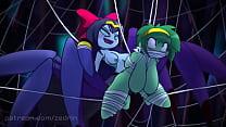 Monstergirl shantae (futa) by zedrin