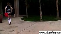Teen Girl Amateur Masrtubating In Front Of Camera vid-17