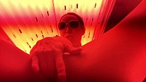 Getting Myself Off in the Tanning Bed