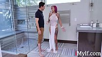 This MILF Cums During Work....Anna Bell Peaks