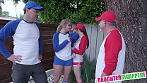 Taylor Blake, April Snow Softball Diamond Daughter Dick Down - VideoMakeLove.Com