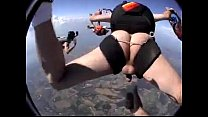Raw parachute jump, but forgot one thing...!