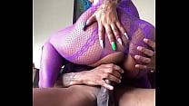 Sucking & Riding The Jamaican Curve Cock Kxng U