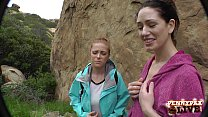 Amazing Hiking POV Threesome with Penny Pax and Sarah Shevon Preview