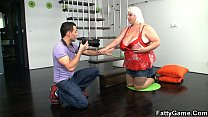 7934 Blonde bbw sex after photosession preview