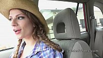 Busty stranded teen cowgirl banged in a trunk Vorschaubild