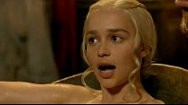 Emilia Clarke Game of Thrones S03 E08's Thumb