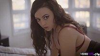 Carolina Sweets blows her stepbros humongous cock! video