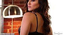 Sunny Leone's black lingerie thumbnail