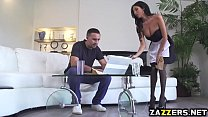 Keiran Lee tongue licks his French Maids sweet pussy tumblr xxx video