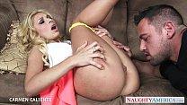 Erotic blonde babe Carmen Caliente fucking