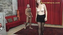 Redhead Agent Whore makes this guy really horny preview image
