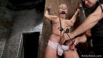 Big tits hogtied blonde anal toyed's Thumb