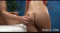 Sizzling gal with nice ass and pink pussy craves for banging