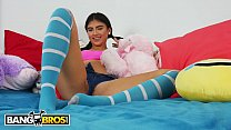 BANGBROS - Petite Latin Teen Michelle Martinez Gets Her Pussy Pounded pornhub video