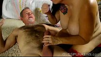 12607 Beautiful busty mature brunette loves a sticky facial cumshot preview