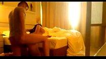 Asian couple homemade video