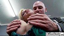 (sarah vandella) Sexy Girl With Big Boobs Banged In Office movie-27