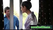 Masseuse offers sex during a nuru massage - TommyGunn & ChloeAmour