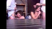 Hairy granny enjoys anal in group sex Vorschaubild