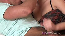Love Creampie Big tits brunette is ready to be pregnated by her lover thumbnail