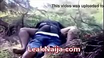 AFRICAN MARRIED WOMAN CAUGHT HAVING SEX WITH OKADA MAN INSIDE BUSH - LEAKNAIJA image